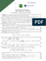 Subiecte și soluții Olimpiada Națională de Matematică Clasa a IX-a
