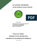 Makalah Sistem Informasi (Print)