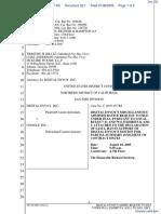Digital Envoy Inc., v. Google Inc., - Document No. 221