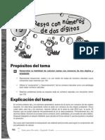 Guia Para Docentes Matematicas 2 - Tema 5 - Resta Con Numeros de Dos Digitos