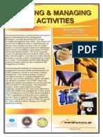 Auditing & Managing FOREX Activities