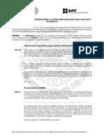 Segunda Resolución de Modificaciones a la Resolución Miscelánea Fiscal para 2015