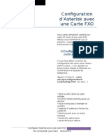 Configuration FXO