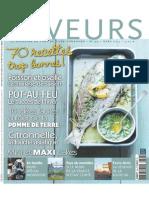 Saveurs France Mars 2013