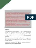 LECTOESCRITURA CONSTRUCTIVISTA