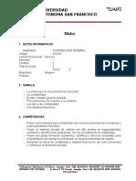SILABO Contabilidad General-Derecho