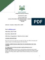 sw 4710 traditional syllabus