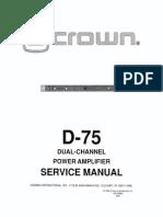 d75sm Complete