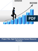 High Performance Human Resource Practices