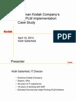 Kodak- SAP Manufacturing Industry Forum v2