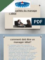Les qualités du manager idéal