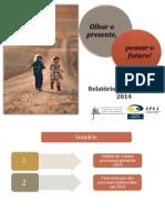 Relatório de 2014 das CPCJ do Concelho de Sintra