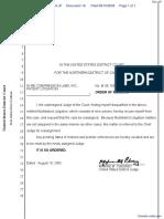Google Inc. v. Compression Labs Inc et al - Document No. 18