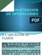 EXPOSICIÓN ADMINISTRACIÓN DE OPERACIONES