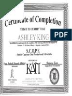 scope pdu certificate