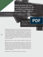 La codificación de una ideología de disidencia en el Cine Político Marginal colombiano (1966-1976)