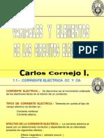 Variables y Elementos d Circuitos Elecricos