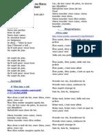 Chants de Culte Du 8 Mars 2015
