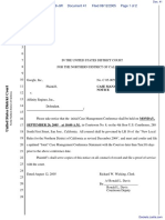 Google, Inc. v. Affinity Engines, Inc. - Document No. 41