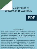 Unidad v Sistema de Tierra en Subestaciones Eléctricas