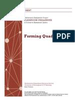 forming quadratics beta complete