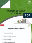 Ley 19 968 Tribunales de Familia Diapo