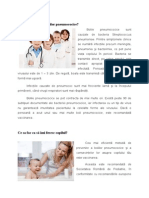 Care Sunt Cauzele Bolilor Pneumococice