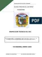 Informe Comapañia Aurifera Huaylillas 01