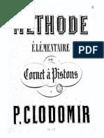 PClodomir Methode Complete de Cornet a Pistons, Op.13