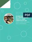 Informe de Balance de La Gestión Regional Frente Al Cambio Climático
