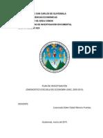 Ejemplo Plan de Investigación para el curso de Técnicas de la investigación