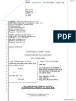 Advanced Internet Technologies, Inc. v. Google, Inc. - Document No. 15