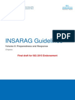 INSARAG Guidelines V2, Chapeau-Preparedness and Response