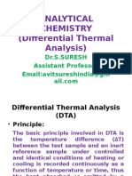 Differential Thermal Analysis