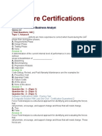Software Certification CABA