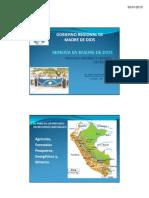 Políticas y Regulación Ambiental Regional de la Minería Artesanal en Madre de Dios