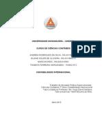 ATPS 7º Semestre Contabilidade Internacional.doc