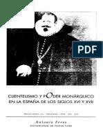 AntonioFeros Clientelismo y Poder Monárquico
