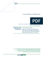 2012 - Projeto Diretrizes Lesão Medular