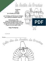 Actividades Día de Acción de Gracias