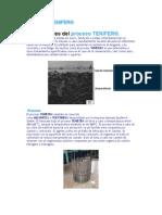 Tratamiento Tenifer ( Temperaturas y similitudes).