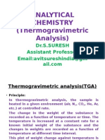 Thermogravimetric Analysis