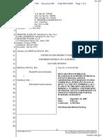 Digital Envoy Inc., v. Google Inc., - Document No. 297