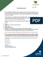 kg swimming letter for parents term 3