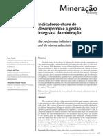 Indicadores-chave de desempenho e a gestão integrada da mineração