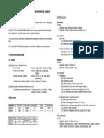 Contrastive Linguistics Spanish- English Handout 3