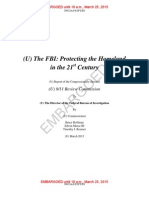 FBI-Protecting the Homeland in 21st Century