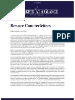 Beware Counterfeiters