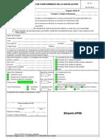 FR-13,17,18,19 y 20 Formularos DCI y Anexos Tecnicos 20120228