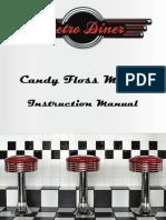 18842 Gourmet Gadgetry Candy Floss Maker